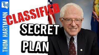 Bernie Sanders' Plan to Win, Revealed by Thom Hartmann