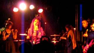 Faith and the Muse - Sparks (live 06.11.09, Ice Age Festival, Darmstadt, Goldene Krone)
