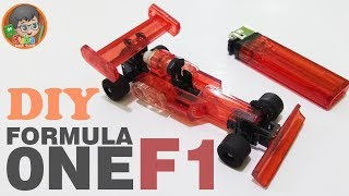 AMAZING DIY TOYS ! Miniatures Formula One Car Made From Cheap Lighters