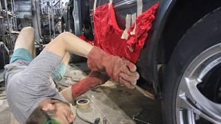 Замена порогов кузова и защита от коррозии, ремонтируем и перевариваем гнилые пороги в Томске