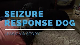 Seizure Response Dog Feature: Jessica's Story