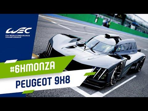 プジョーの新型WECマシン「9X8ハイパーカー」が登場 WEC 第3戦 モンツァ6時間レース