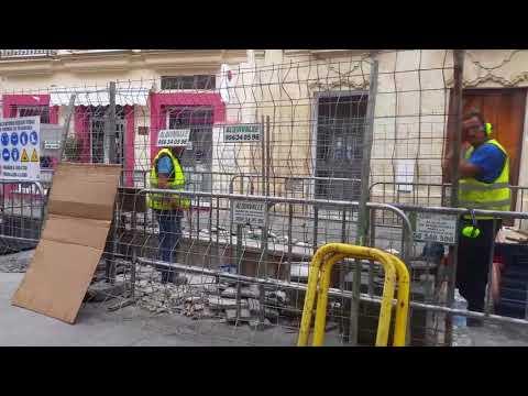 Comienza la eliminación de contenedores soterrados