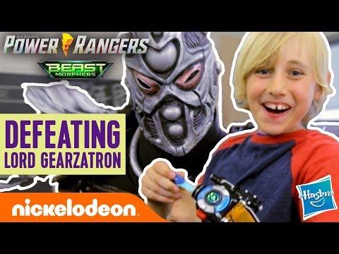 Will Gabe & Garrett Defeat Lord Gearzatron?! | Power Rangers Beast-X Morphers Ep. 3 | Nick