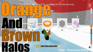 How to get the Orange and Brown Halo in Treacherous Tower   Level to 10 and 40