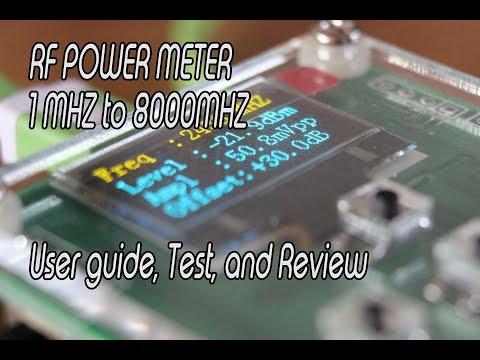 how use the rf power8000