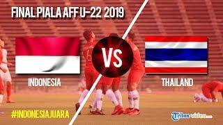 Live Streaming Babak Kedua Laga Final Piala AFF U-22 Indonesia Vs Thailand