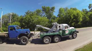 30th Annual Vintage Dodge Power Wagon Rally - Trip To Lake Darling