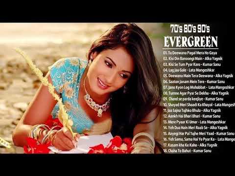 '80s 90's evergreen old songs Alka Yagnik Udit Narayan Lata Mangeshkar Kumar Sanu    Bollywood dhama