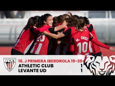 ⚽ Resumen I J16 Primera Iberdrola I Athletic Club 1-1 Levante UD I Laburpena