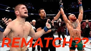 Conor McGregor ASKING FOR A Rematch With Khabib Nurmagomedov