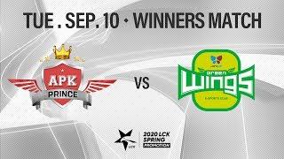 APK vs JAG | Promotion Winners Match H/L 09.10 | 2020 LCK Spring