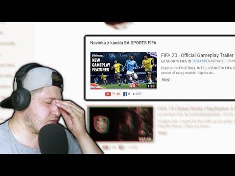 REAKCE NA NOVINKY VE FIFA 20!