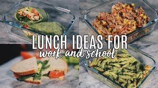 5 Healthy Lunch Ideas For Work & School