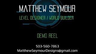 Matthew Seymour Demo Reel