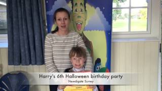 Harry's Halloween 6th birthday party