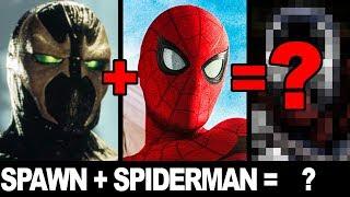 SPAWN & SPIDER-MAN - CHARACTER MASHUP ART CHALLENGE!