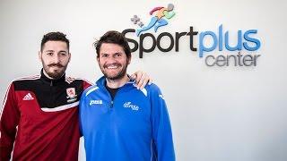 SportPlus Center colabora con el Middlesbrough en la recuperación de LCA de Damià Abella - SportPlus Center