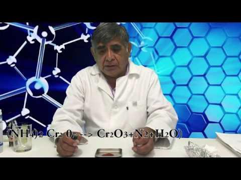 Obtención de óxido de cromo
