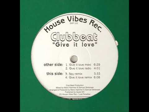 Clubbeat - Give It love (Maxi)