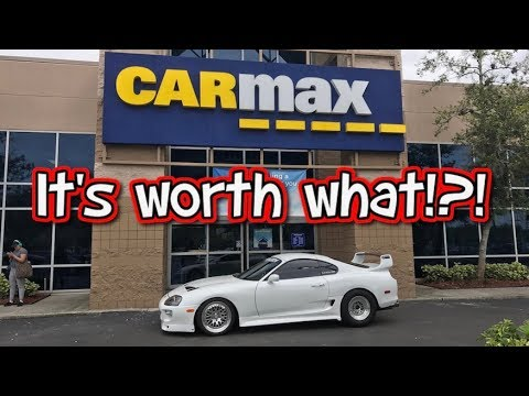 How much is a 1000hp Supra Turbo worth? Took my Supra to Carmax.