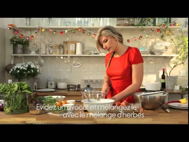 Recette – la tartare de tomates – ELLE Cuisine