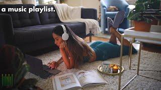listening to lofi in the living room ♫