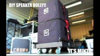 DIY Subwoofer Cart! | Save Time On Load In's!