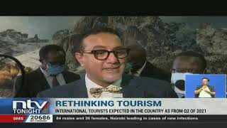 Tourism and Wildlife Cabinet Secretary, Najib Balala, has given