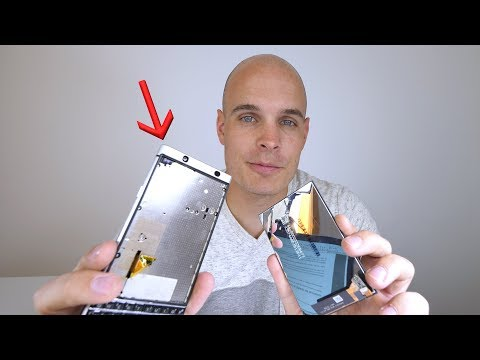 Follow up test from JerryRigEverything confirms KEYone display can stand the test of time
