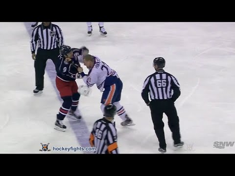 Gregory Campbell vs. Matt Hendricks