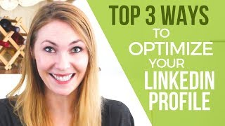 How To Optimize Your Linkedin Profile   3 HIGHEST RANKING Things You Can Do (2019)
