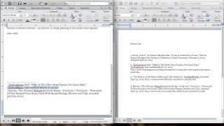 6. Formatting Footnotes and Bibliography