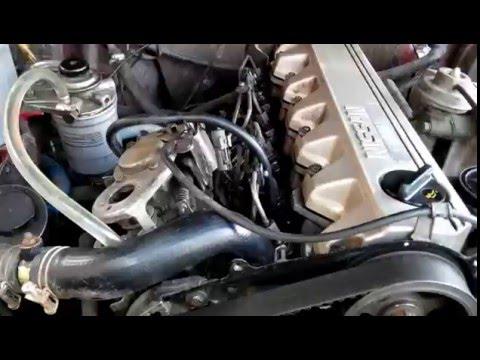 Фото к видео: Метки RD28T Для выставления угла впрыска