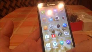 Распаковка смартфона Lenovo A850