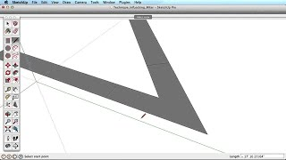 SketchUp Training Series: Inference Locking