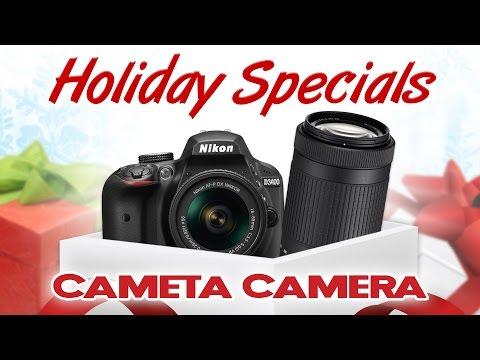 Black Friday Deals - Nikon D3400 Digital SLR 2-Lens Bundle (SALE ENDED)