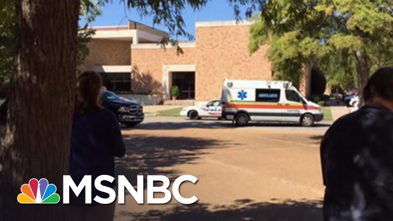Professor Shot, Killed At Delta State University | Andrea Mitchell | MSNBC thumbnail