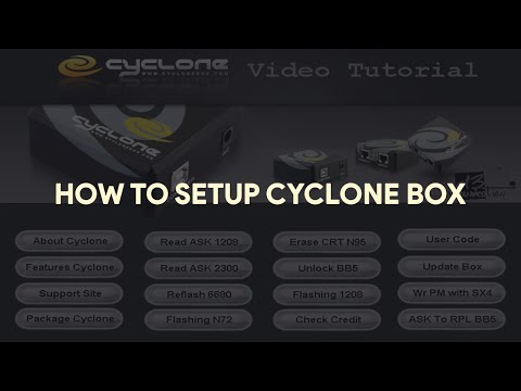 How To Setup Cyclone Box - [romshillzz]