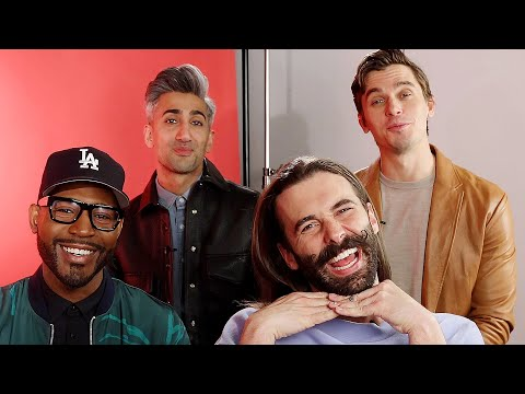 Surprise Staring Contest With The Queer Eye Guys