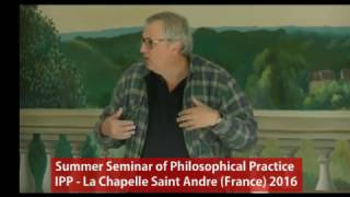 Parrhesia - Speaking out the truth - IPP - Summer Seminar 2016