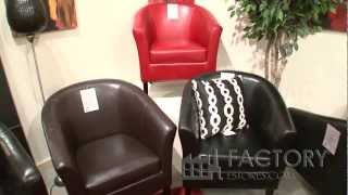 Linon Furniture Simon Club Chairs - Factoryestores.com
