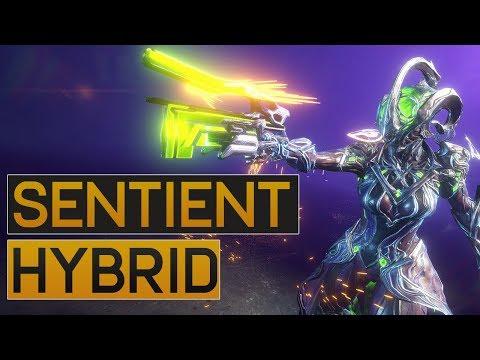 Warframe: Sentient Hybrid Sidearm - Cyanex