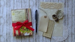 Cottage Chic Mini Journal