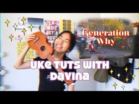 Generation Why Conan Gray Ukulele Tutorial (beginner) 🎶