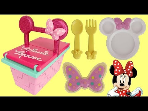 Disney Minnie Mouse Snap On Picnic BAsket Playset With Princess Sofia The First Mp3