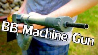 DIY Airsoft BB Machine Gun - 5,000 + Rounds Per Minute - NightHawkInLight