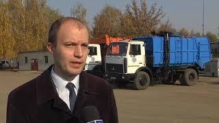Водители мусоровозов  сразились в конкурсе профмастерства