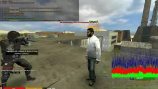 DARKRP Администратор не выдержал клип азиса и спрыгнул с крыши