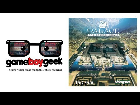 The Game Boy Geek Reviews The Palace of Mad King Ludwig